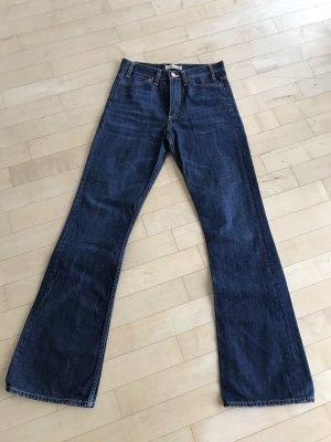 Acne Jeans bootcut bleu