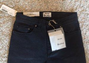 Acne Studios Jeans, Pin, Tar Grey, High Waist, Skinny Leg, Gr. 27/32, Neu