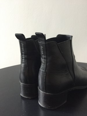 Acne Chelsea Boots black leather