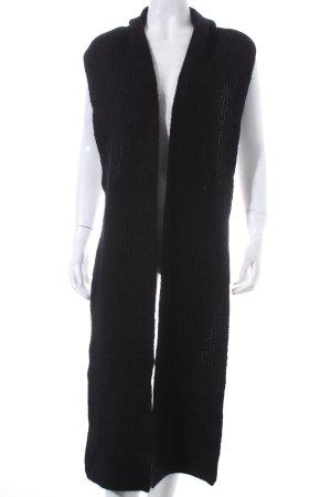 Acne Studios Capuchon sjaal zwart pluizig