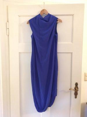 Acne Studios Vestido de baile azul neón-azul Seda