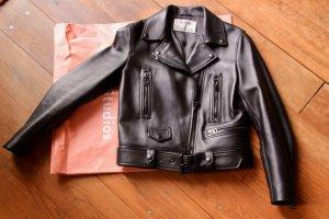 Acne Biker Jacket black leather