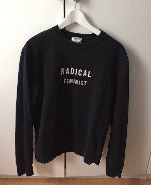 Acne Studios Oversize Sweatshirt schwarz S