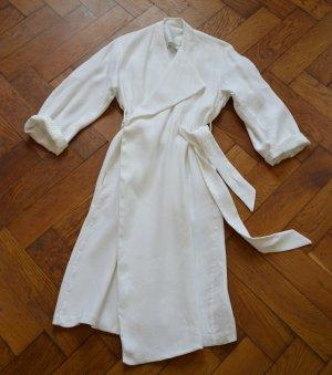 Acne Cappotto taglie forti bianco Tessuto misto