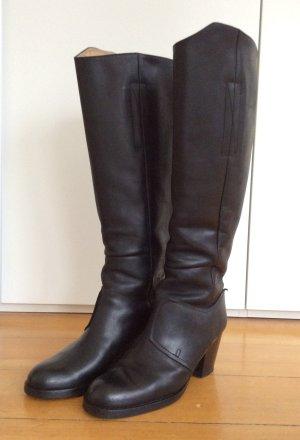 acne studios pistol boots black, Gr.40, mattschwarz, sehr cool