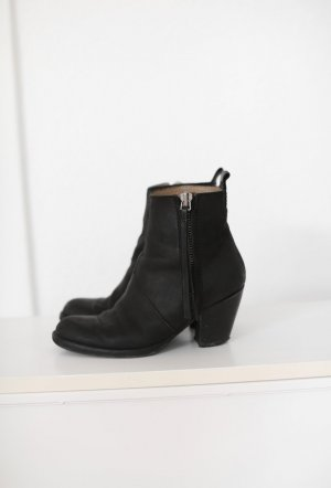 Acne Western Booties black
