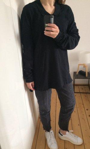 Acne Studios Poloshirt Sweatshirt Hemd Bluse lange Ärmel Gr. 34-36 Ausschnitt