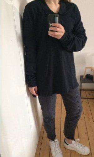 Acne Studios Poloshirt Sweatshirt Hemd Bluse lange Ärmel Gr. 34-36 Oversize