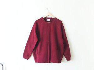 ACNE Studios Pullover Gr. M Nikoleta FI bordeaux weinrot Jersey Sweater