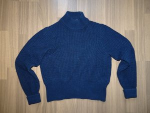 Acne Wool Sweater dark blue wool