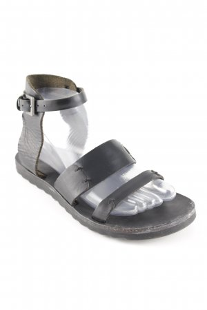 Acne Studios Strapped Sandals black street-fashion look