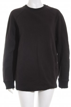 Acne Studios Crewneck Sweater black street-fashion look