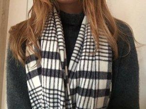 Acne Studios Schal schwarz weiß kariert