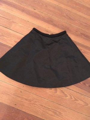 Acne Studios Circle Skirt black nylon