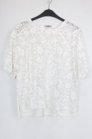 Acne Top extra-large blanc