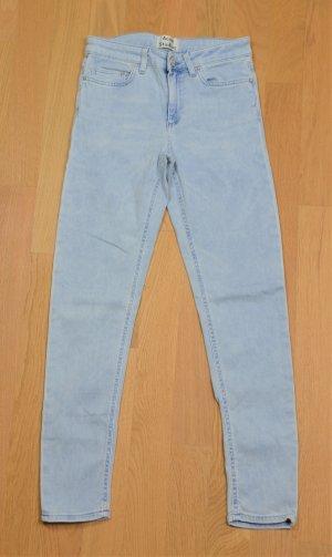 Acne Mode bleu azur coton