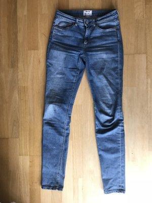 Acne Studios Skin5 Jeans Vintageblau mittlere Leibhöhe Gr 26/34