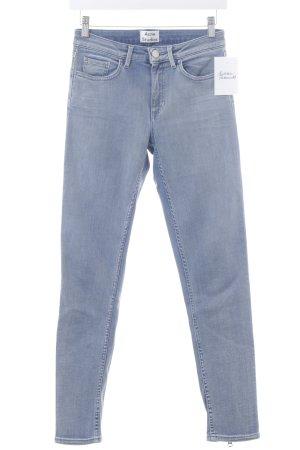 Acne Studios Skinny Jeans blau Casual-Look
