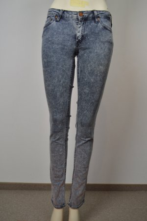 ACNE STUDIOS skinny Jeans Gr. 27/32 KEX black snow stretch
