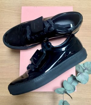 Acne Zapatilla brogue negro