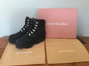 Acne Boots black leather
