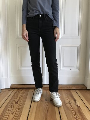Acne Studios South Used Black Jeans in Größe 23/32