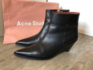 ACNE STUDIOS Stiefeletten Stiefel Boots 41 schwarz