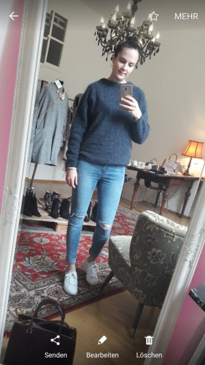 Acne Studios Strick Knit Mohair Pulli Pullover Blogger Jumper M
