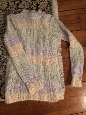 Acne Pull tricoté multicolore