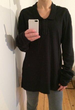 Acne Studios Sweatshirt Poloshirt Pullover Gr. XS 34-36 lange Ärmel oversize