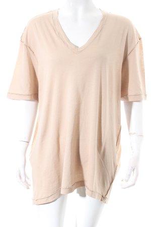 Acne Studios T-Shirt beige minimalistischer Stil