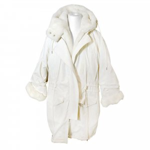 Acne Studios Winter Parka, Ivory White, Gr. S