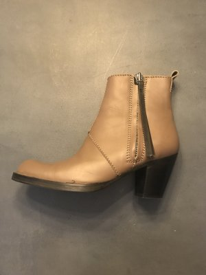 Acne Zapatos beige-marrón claro Cuero