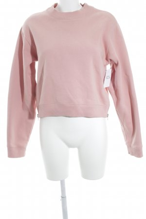 Acne Sweatshirt rosa Casual-Look
