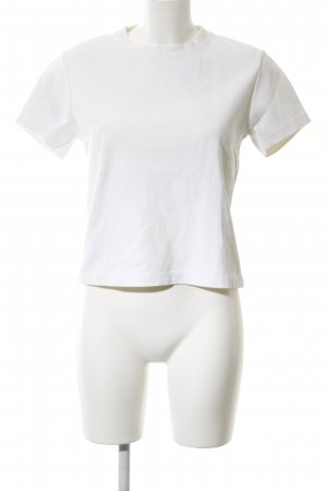 Acne T-shirt blanc style d'affaires