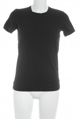 Acne T-Shirt schwarz Casual-Look