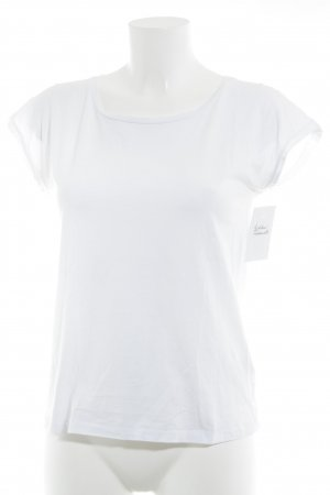 Acne Camiseta blanco look casual