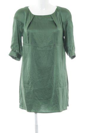Acne Vestido tipo túnica verde bosque elegante