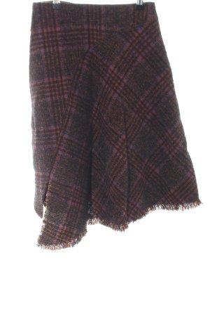 Acne Gonna di lana stampa integrale stile casual