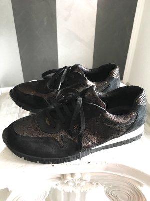 Aco Sneaker stringata nero-bronzo