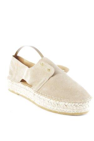Act. Espadrille sandalen grijs-bruin simpele stijl