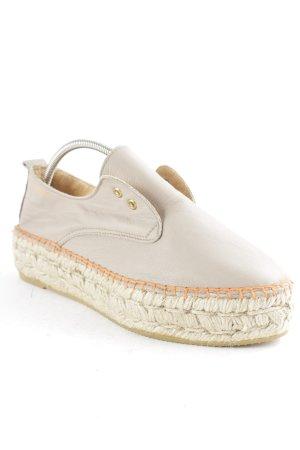 Act. Espadrilles-Sandalen graubraun schlichter Stil