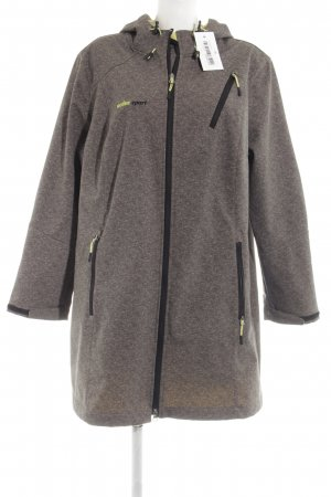 active Sports Jacket silver-colored flecked casual look