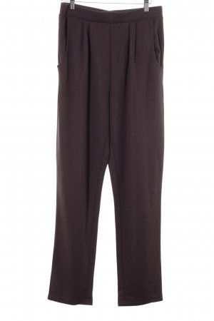 active Jersey Pants dark brown casual look
