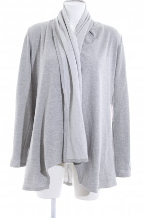 Active USA Cardigan light grey flecked casual look
