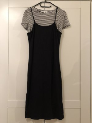 Active USA Jersey Dress black-white