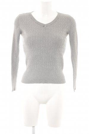 Active USA Knitted Sweater light grey casual look