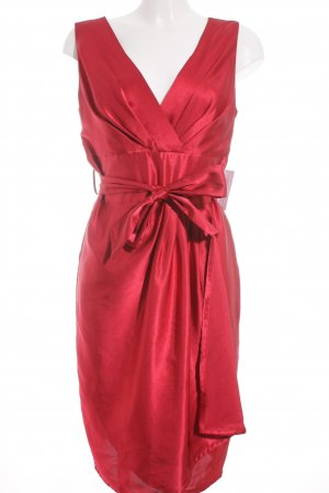 Adagio Vestido babydoll carmín-rojo oscuro elegante