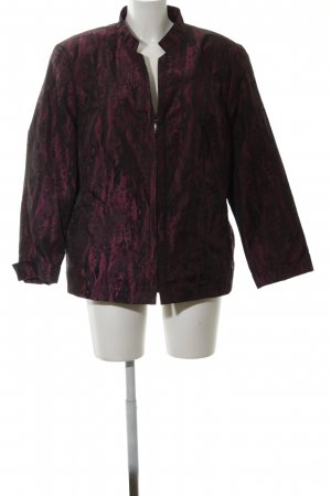 Adagio Blouse Jacket red-black allover print casual look