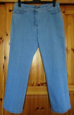 ADAGIO Damen Jeanshose Jeans hellblau blau